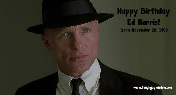 Happy 66th Birthday to Ed Harris.