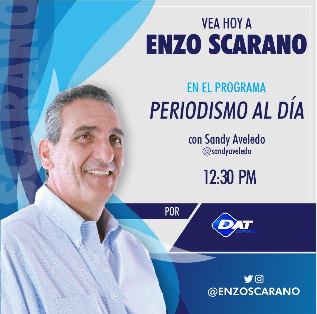 Hoy #28Nov a las 12:30pm estaré en #PeriodismoAlDía junto a @SandyAveledoL por DAT Televisión @DATTVNOTICIAS