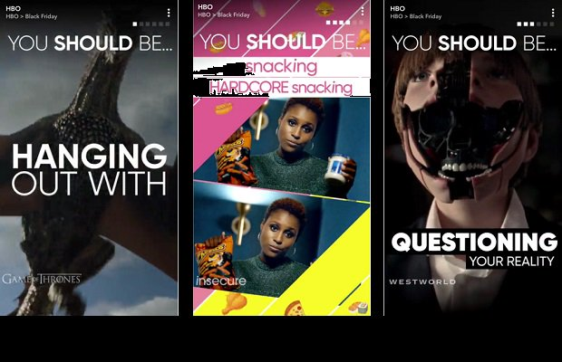 Snapchat debuts 'Stories for Brands': HBO and ASOS first to sign up https://t.co/rz0SQGsYVi #socialmediamarketing https://t.co/oh0uyWexUW