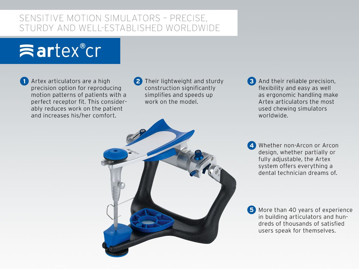 Image result for Artex Articulator CR