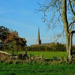 Should get a view of Tetbury Church tomorrow on our South Cots walk.
