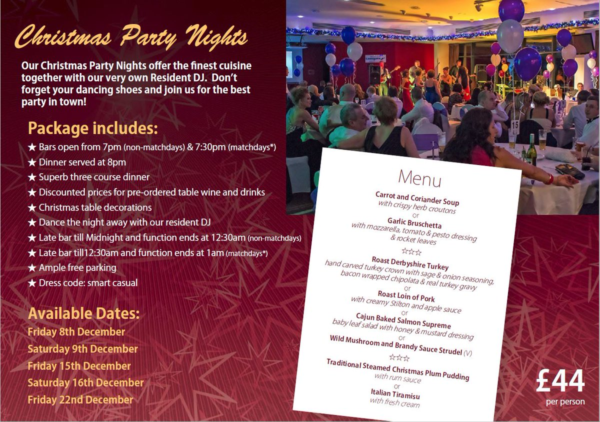 Christmas Party Save The Date Cards.Chesterfield Fc On Twitter Save The Date Christmas Party