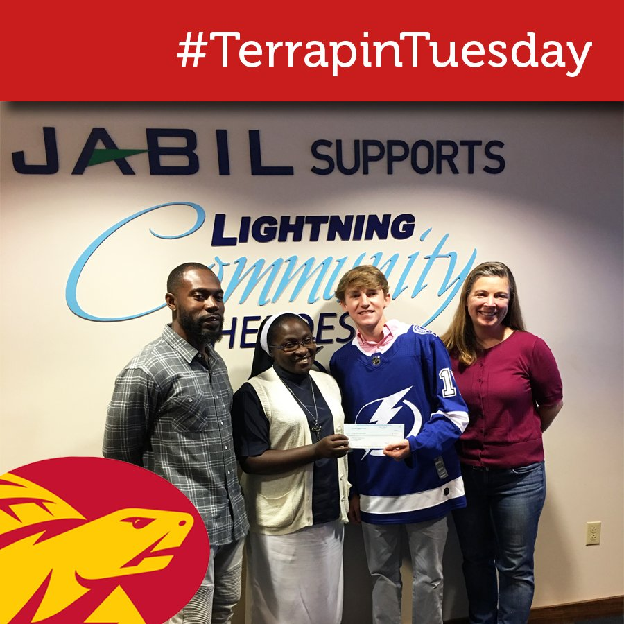 """Tampa Bay Lightning Community Hero: Tampa Prep On Twitter: """"Congratulations To This Week's"""