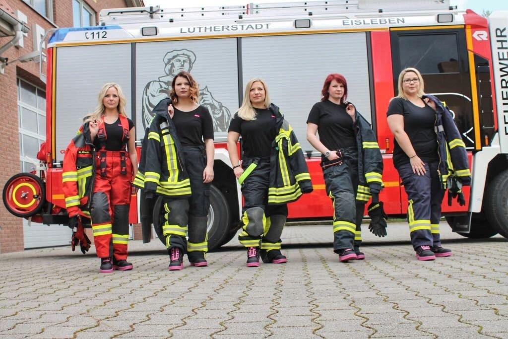 Sexy Feuerwehrfrauen
