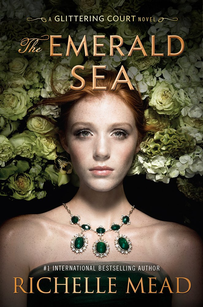 Pretty pretty cover reveal for THE EMERALD SEA, third and final book in the  Glittering Court series. ...