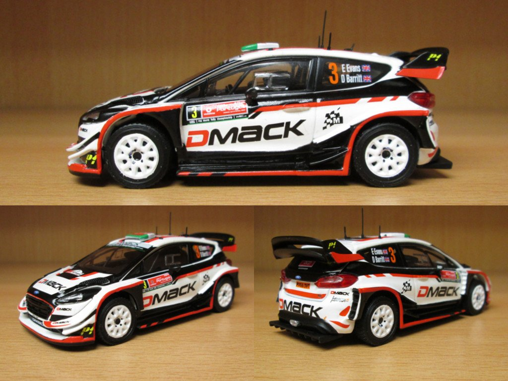 Modelcarworld On Twitter This Ford Fiesta Rs Wrc 2017 In Scale