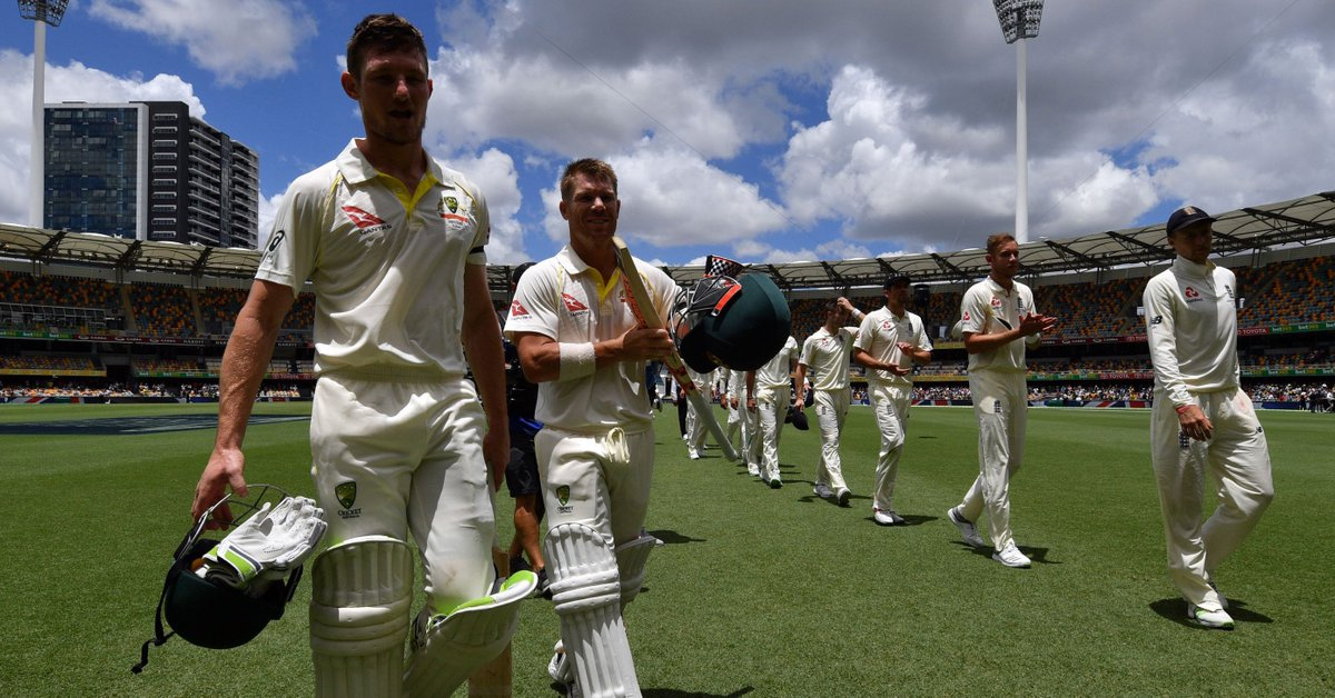 Ashes 2017/18: Australia Named Unchanged XI for Historic Adelaide Test 2