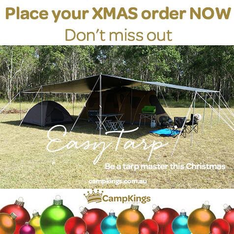 Christmas Camping Australia.Campkings Australia On Twitter Be A Tarp Master With