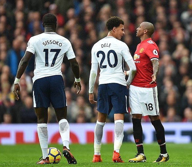 Dele Alli told Ashley young to retire with a zimmer frame  Alli this season: 13 apps 3 goals 2 assists   Young this season: 10 apps 3 goals 2 assists  Young is a left back 👀