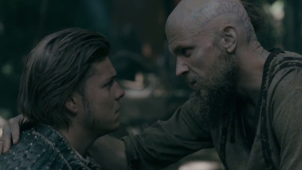 No, YOU'RE crying! Here's a sneak peek from tomorrow's new episode of #Vikings. https://t.co/WXZjFanDuH