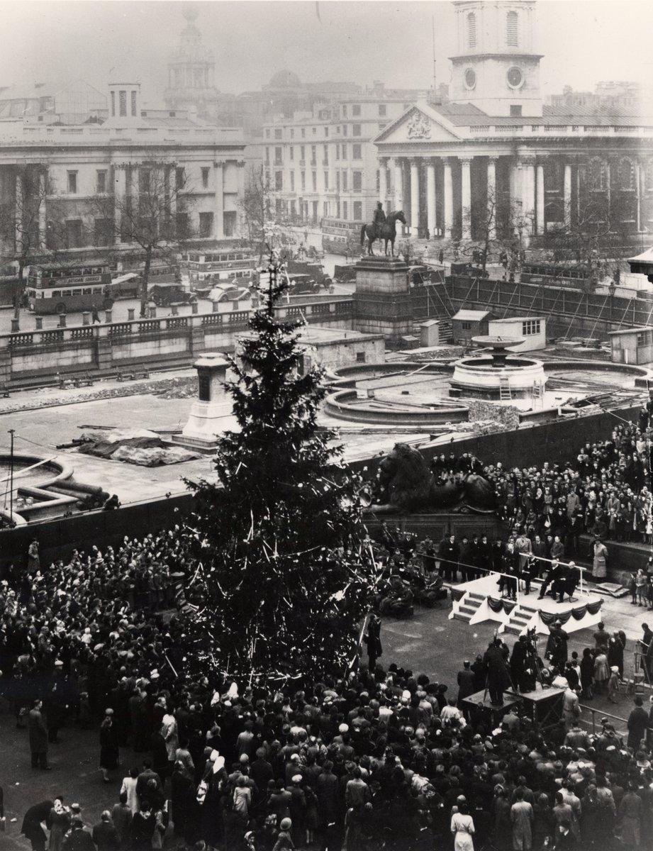 Londons Christmas Tree In Trafalgar Square Is Donated Each Year By Which Country.The Trafalgar Tree Trafalgarstree Twitter