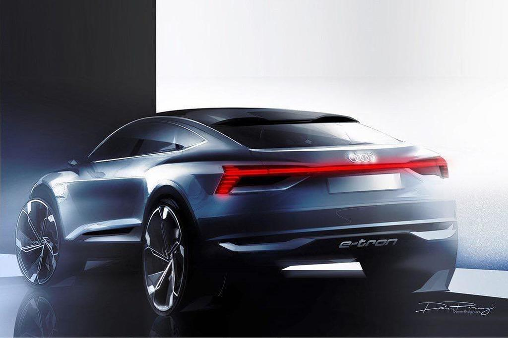 Form Trends On Twitter Audi E Tron Sportback Crossover Concept Sketch By Domen Rucigaj