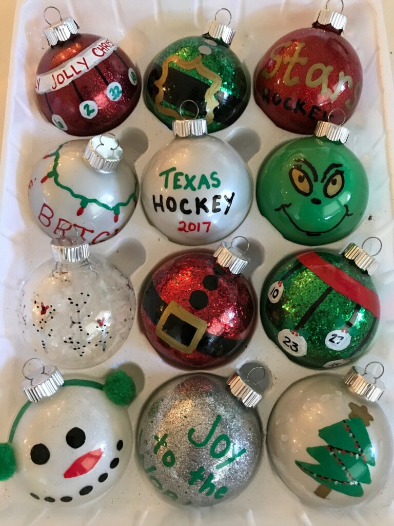 all throughout december the texas stars foundation will be selling christmas ornaments made by txstars families bring a little piece of the stars to your - Texas Christmas Ornaments