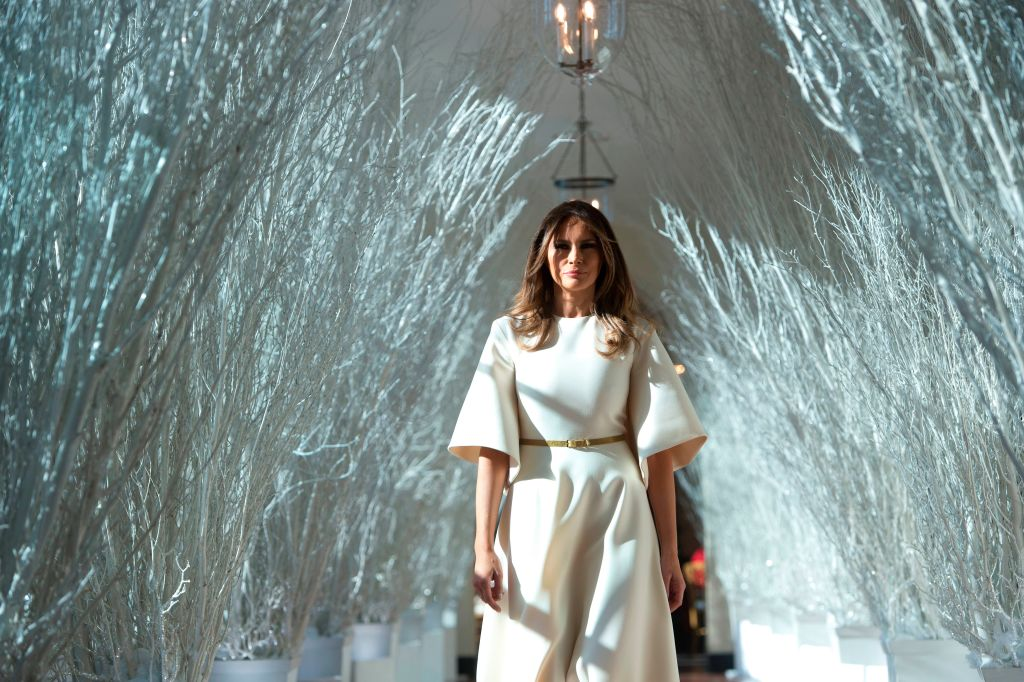 See how melania trump decorated the white house for the holidays https t co vldblsgcox