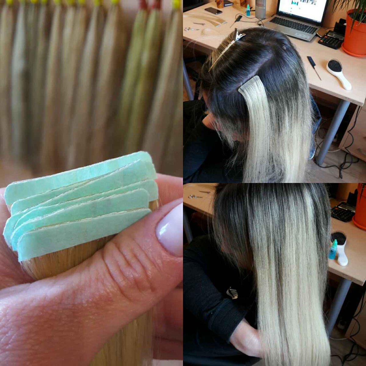 Холодное ленточное наращивание волос цена