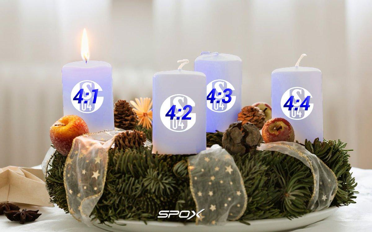 Schalke Bilder Weihnachten.Für Alle Schalke Fans Die Das Derby Noch Bis Weihnachten Auskosten