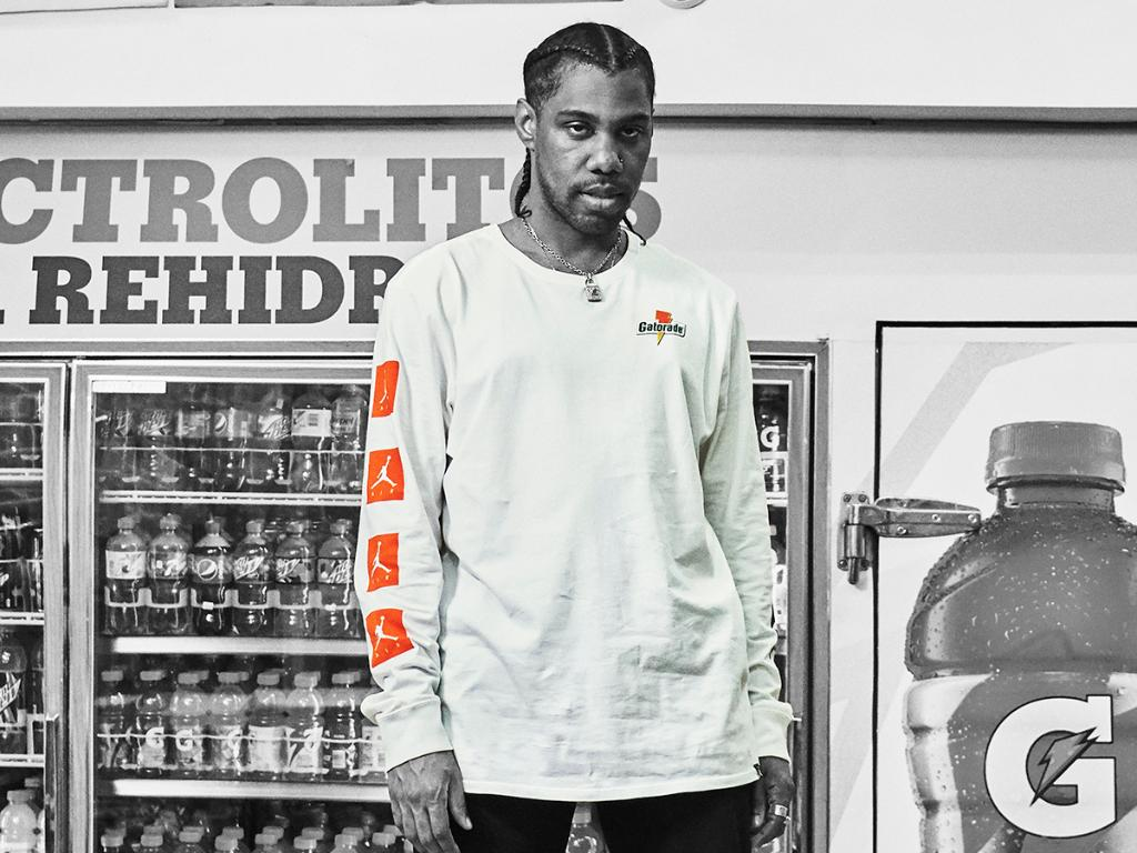 87ac1b1a813c The  Jordan x  Gatorade Like Mike Jacket and Long Sleeves are in stores and  online here.