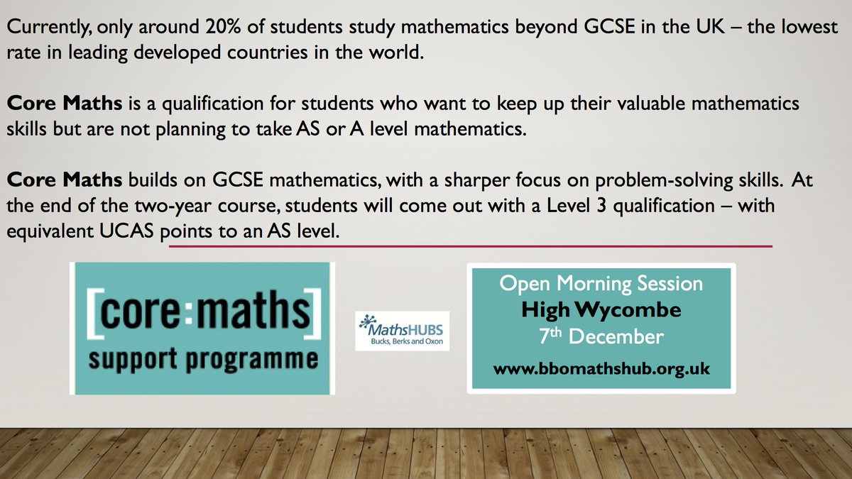 BBO Maths Hub on Twitter: \
