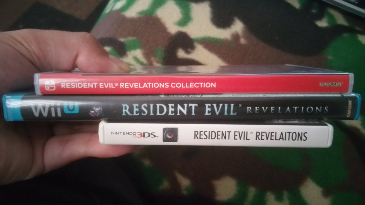 Residentevilrevelationscollection Hashtag On Twitter Switch Resident Evil Revelation English Us Games My 3rd Time Buying This Game Hopefully The Last As Well Graphically It Looks Way Better Than Wii U Especially 3ds I Prefer Aim Still