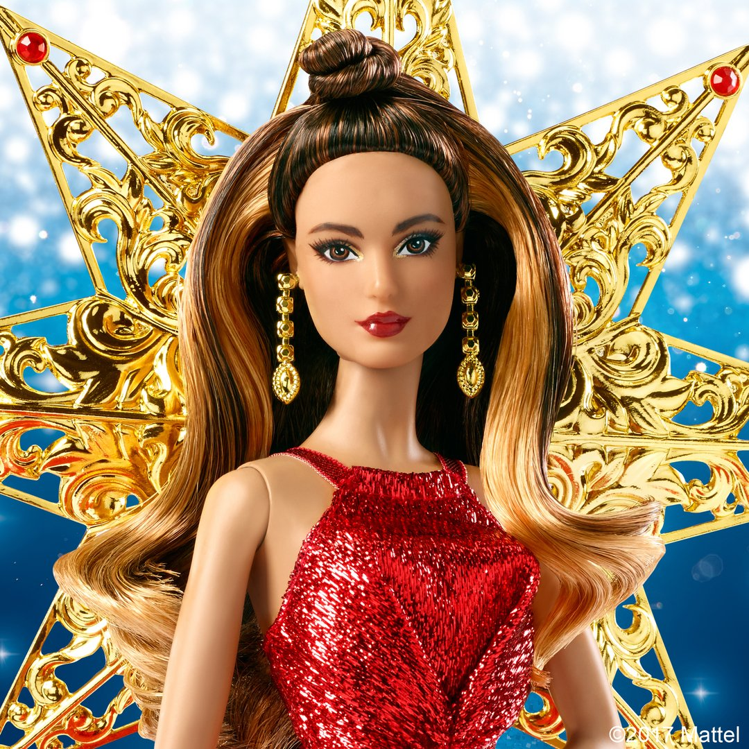 Barbie on Twitter The 2017 Holiday Barbie Doll makes the