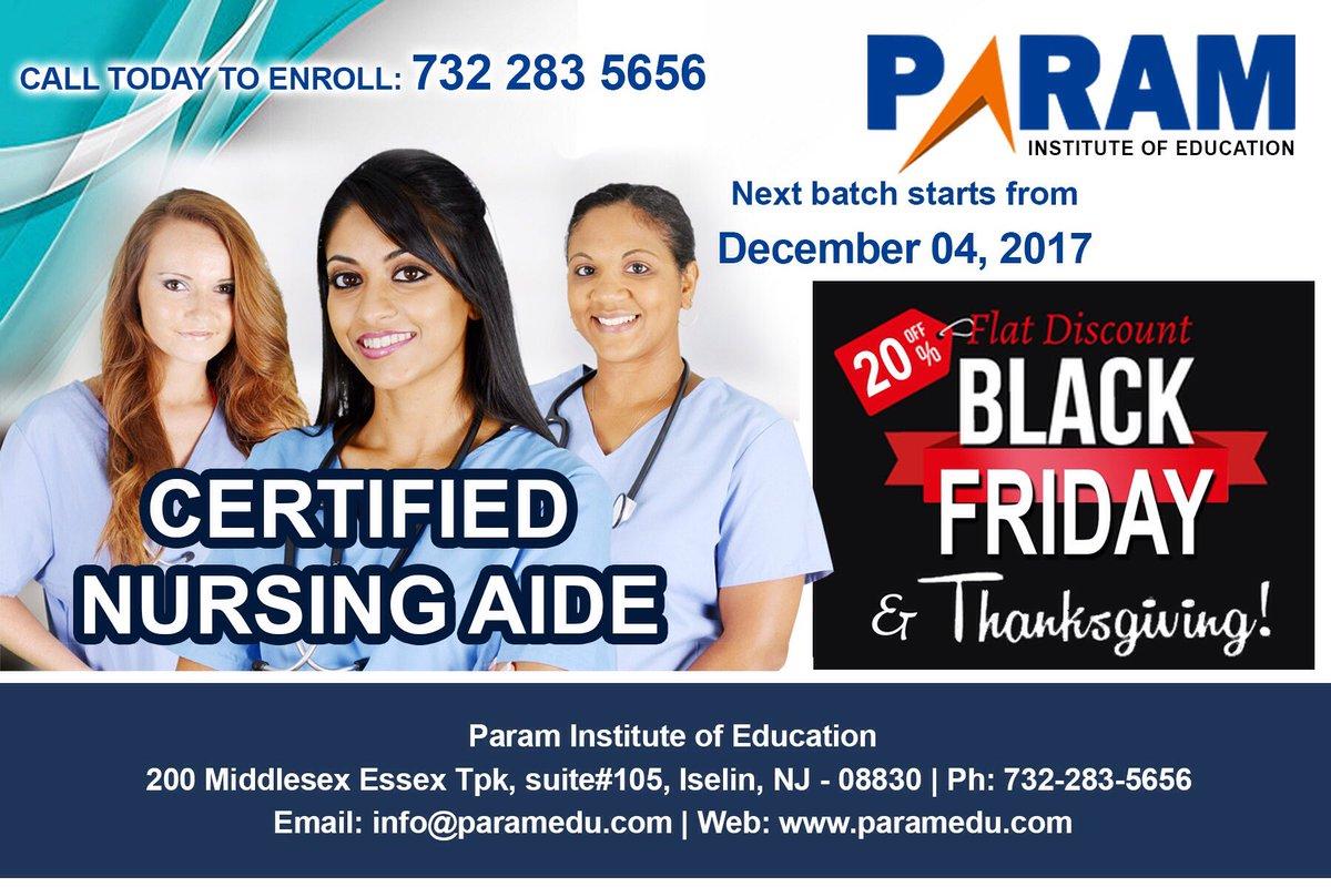 Param On Twitter Certified Nurse Assistant Program Begin In