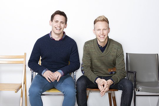 Big applause for our friends @pasekandpaul  for hitting a #Grammys  trifecta this year with 3 nominations! 👏