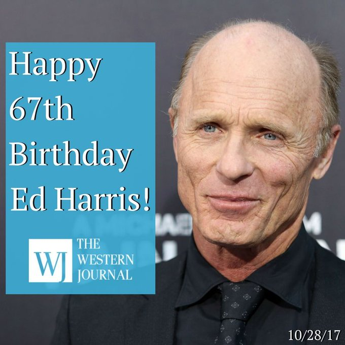 Today, Ed Harris turns 67.   Wish him a happy birthday by commenting some of your favorite Ed Harris films!