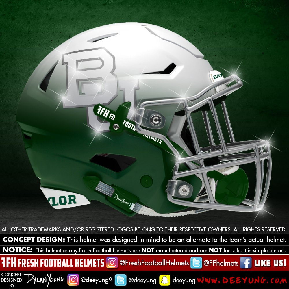 Baylor Bears alternative football helmet