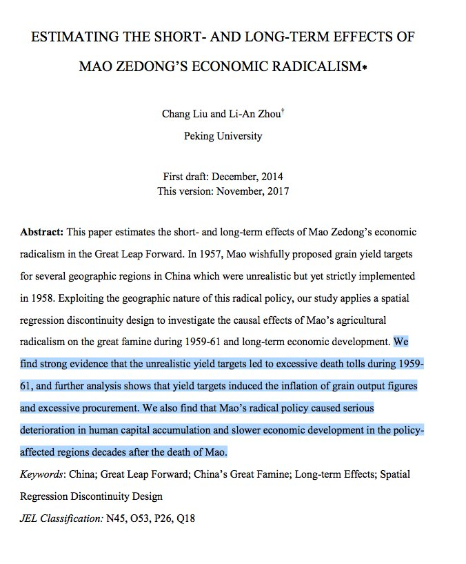 the death of mao zedong that leads to the economic reform China mao zedong (1949 as chinese society continues to change because of the impact of economic reform (there was no criminal code until after mao's death.