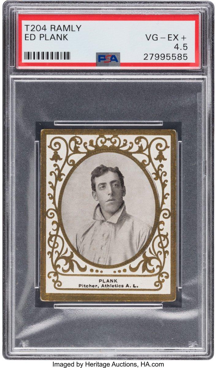 Joe Orlando On Twitter 1909 T204 Ramly Baseball Cards Have