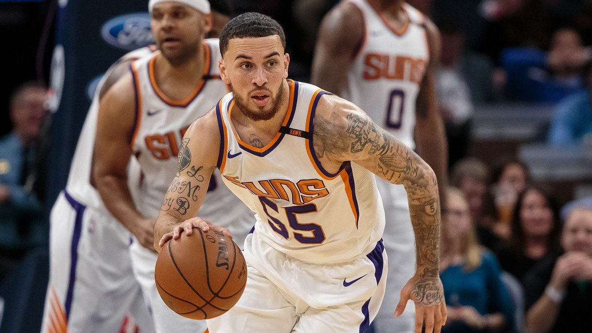 Mike James on Sunday became the first @Suns rookie to score at least 26 points when coming off the bench since Michael Finley scored 27 vs. Denver on Nov. 15, 1995.  #SunsAtBulls coverage starts at 5 on FSAZ and FOX Sports GO.