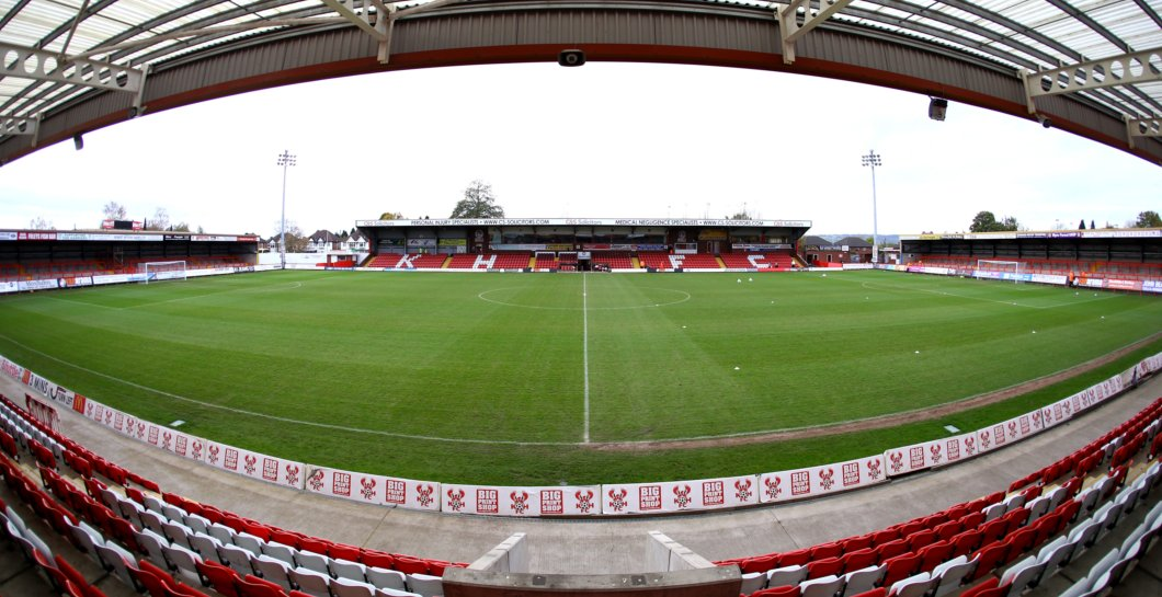🔴 Kidderminster Harriers' home form:  11 games 6 wins 4 draws Unbeaten since the opening day 2 points off the play-offs FA Trophy first round proper  👊 Fortress Aggborough.  #COYR #KHFC