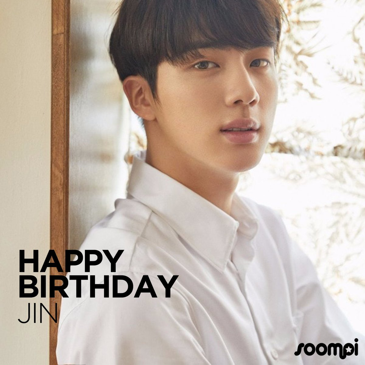 Soompi On Twitter Happy Birthday To Bts S Jin Worldwidehandsomeday Catch Up With Him Https T Co Pixjupurb2