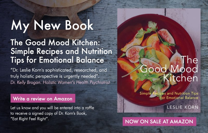 Dr leslie korn on twitter the good mood kitchen by dr leslie the good mood kitchen by dr leslie korn write a review on amazon let us know and you can enter into a raffle to receive a signed copy of dr korns forumfinder Image collections