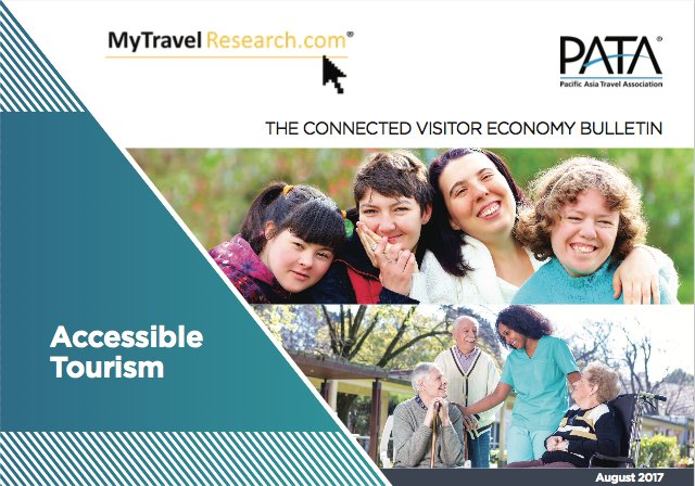 Learn about the broad nature of the accessible travel market and the opportunities it presents from this edition of the #VEBulletin by @TravelResearch0. Free download http://bit.ly/VEAug2017  #AccessibleTourismpic.twitter.com/1NdcdeNSQA