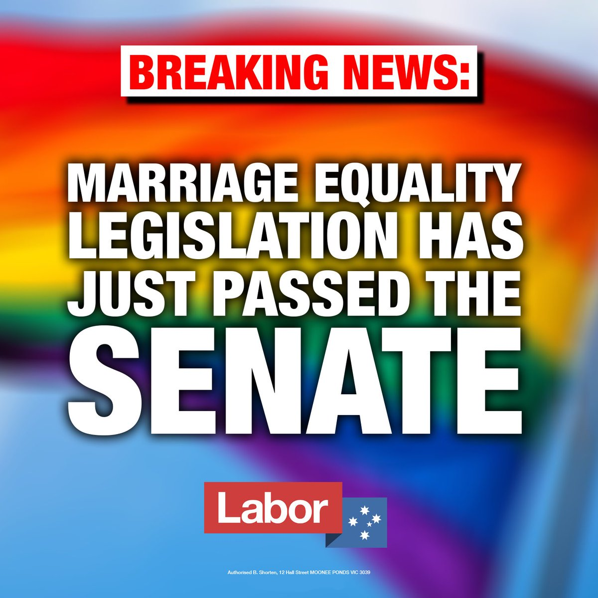 The people said Yes.  The Senate said Yes.  Now it's time for the House of Reps to finally do its job and make marriage equality a reality.  Let's get this done.