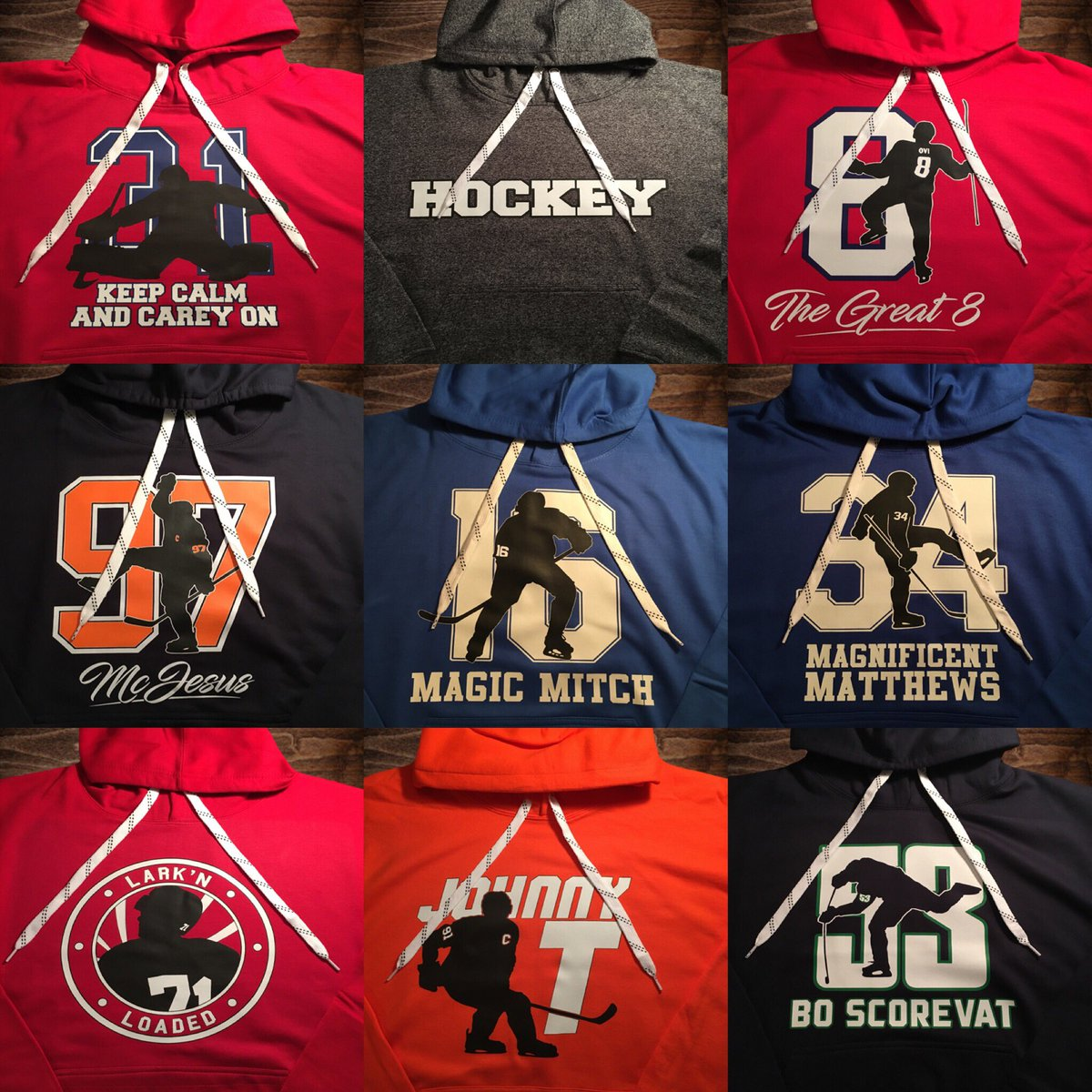 Must be following us to win. The winners are selected on December 25th.  Hoodies are available to order from our store at  http   everythinghockey.org ... 8fec21745