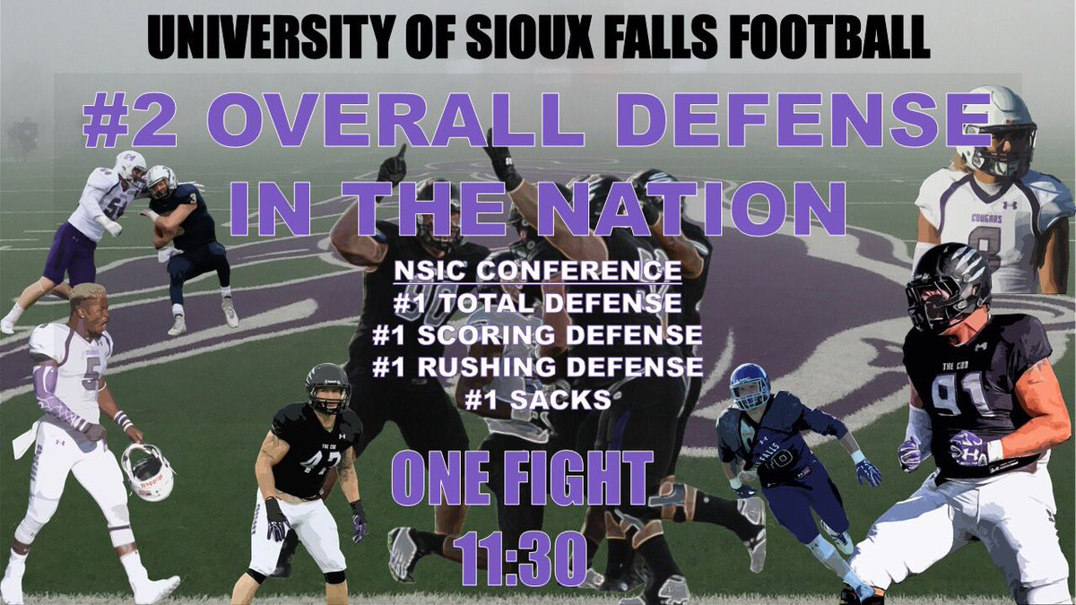 Sioux Falls Football On Twitter Numbers Don T Lie Defenses Are