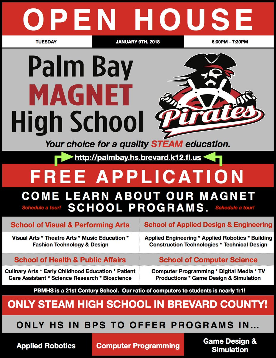 Palm Bay Magnet High On Twitter Attn Hs Students In Brevard