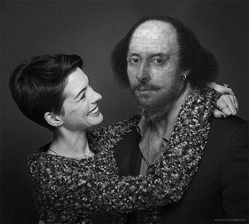 ผลการค้นหารูปภาพสำหรับ anne hathaway and shakespeare