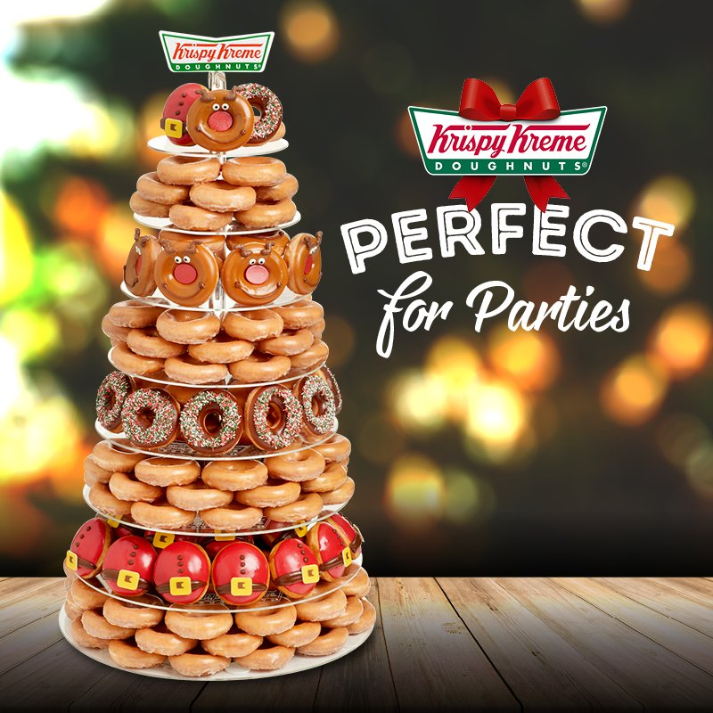 Tower You Ll Be The Office Hero And Never Need To Make A Cuppa Again Http Www Krispykreme Co Uk Christmas Doughnuts Pic Twitter Ga9dksvb6h