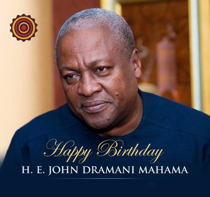 Happy birthday to a global icon (Fmr.) H.E John Dramani Mahama, God bless you sir!