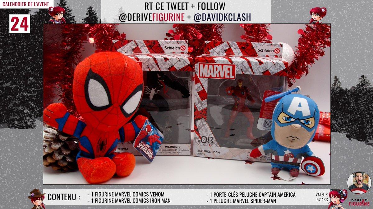 Calendrier De L Avent Spiderman.Derivefigurine On Twitter Concours A Gagner Pour Notre