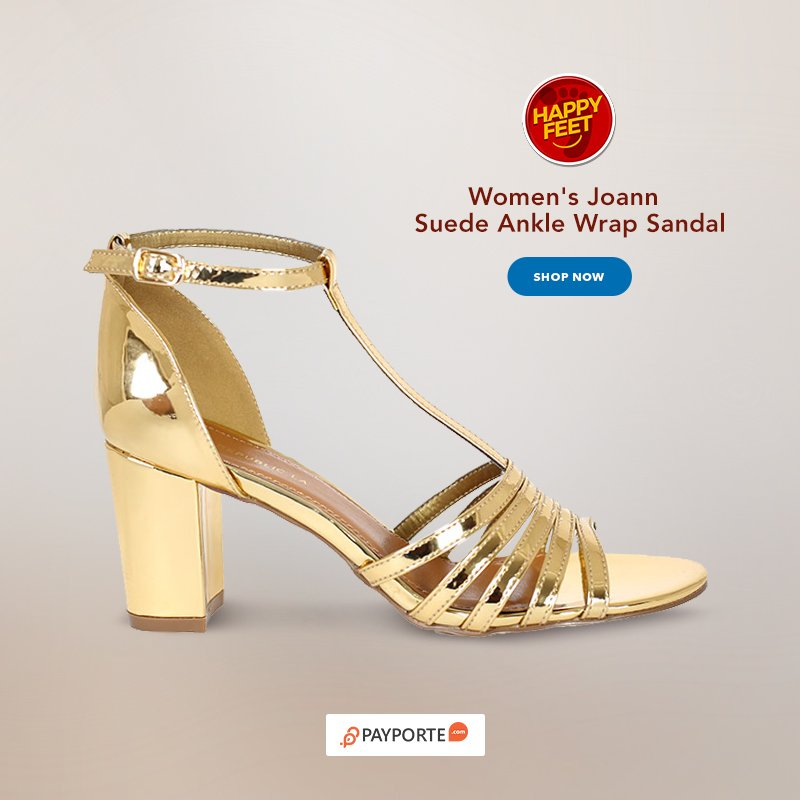 1cded76aed1b9 ... on http   www.payporte.com to shop this sandals now.   HappyFeetWednesday  JustForYou  WomenSandals  GoldSandals  WomenFashionpic. twitter.com jZ9wysCFo0