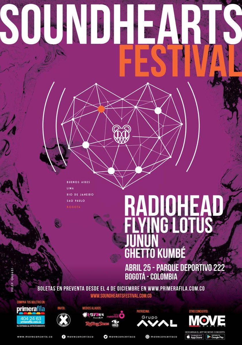 radiohead en bogotá
