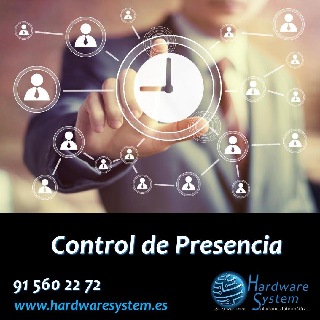 ¿Necesitas una solución de #ControldePresencia para tu empresa? Consúltanos  http://www.hardwaresystem.es  #Presencia #EntradaySalida #Personal #ControlHorarios #SolucionesInformáticas