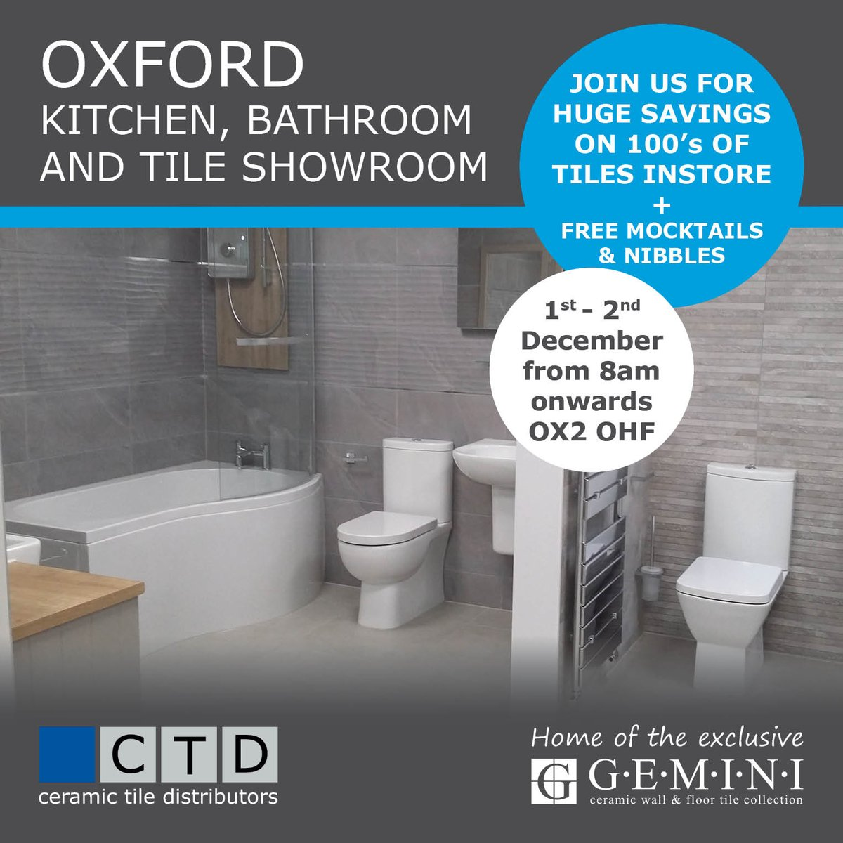 Ctd tiles ctdtiles twitter join us for huge savings on 100s of tiles and special offers on jewson kitchens and bathroom ranges dailygadgetfo Images