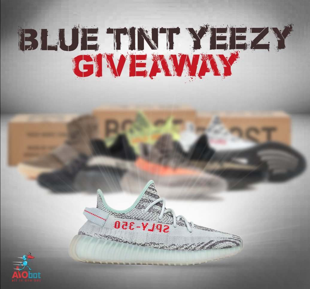 dbae65fc6aa4c ... is  1- RT this post 2- Follow us 3- Visit the link below to enter the  giveaway https   www.aiobot.com free-yeezy-giveaway   …pic.twitter.com nqqlh1HGCs