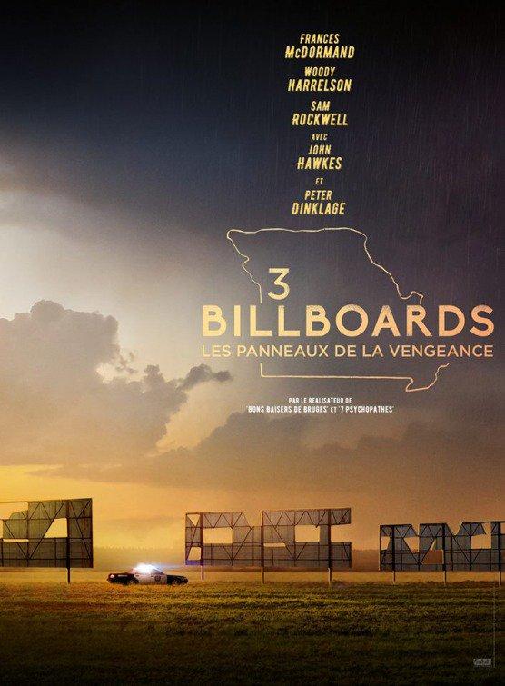 Affiche du film 3 BILLBOARDS : Les panneaux de la vengeance