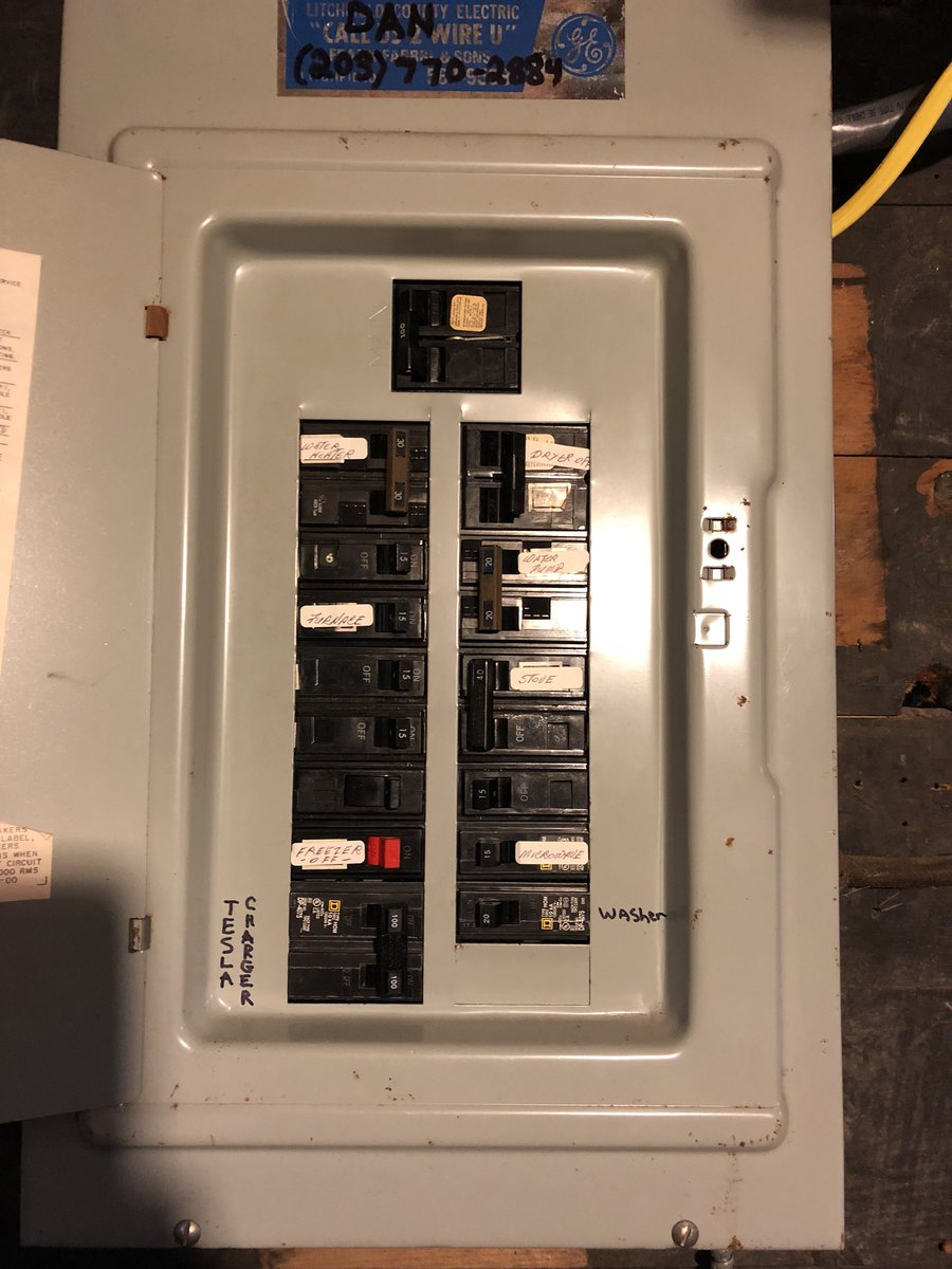 Teslaroadtrip On Twitter Tesla Hpwc Installed At Our New Home In Wiring Installation Ct Junction Box For 2nd Set Up This Spring Prior To